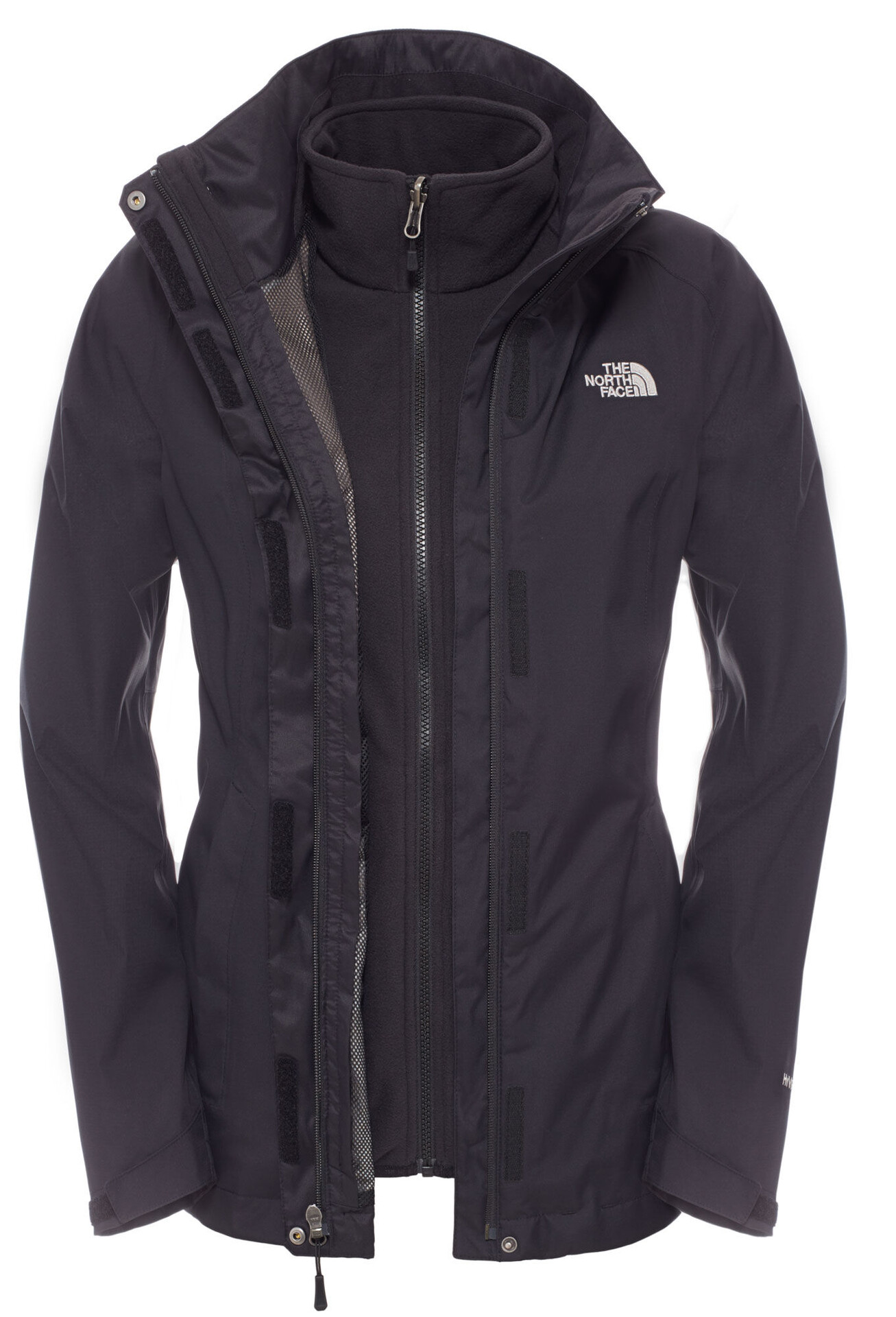 The North Face Evolve II Veste Triclimate Femme, tnf black